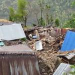 Another pictuereof Phulkharka village after the devastation