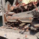 Two floors collapsed crushing desks